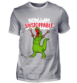Lustig T-Rex Dinosaurier Shirt Geschenk