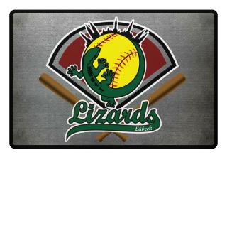 Lizards Fußmatte Softball