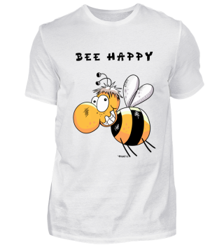 Bee Happy - Insect - Bees - Summer - Fun