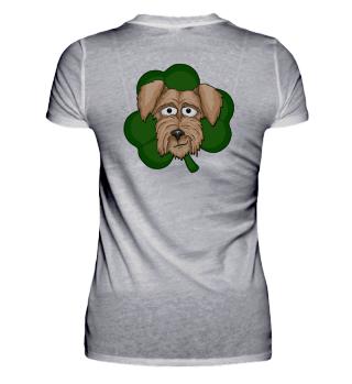 Irish-Terrier Kleeblatt