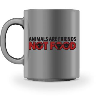 Animals Are Friends Not Food Vegan AF