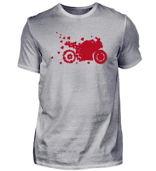 Motorrad Tshirt Motoradfahrer Geschenk
