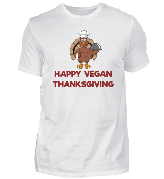Happy Vegan Thanksgiving Turkey Chef
