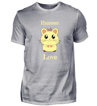 Hamster Love Nagetier Liebe Kinder Shirt