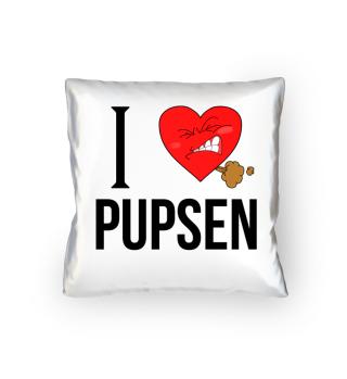 i love pupsen Pupsherz