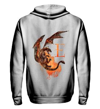 Drachen Buchstabe E