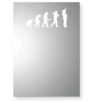 Evolution des Mannes