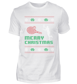 Funny Tennis Player Shirt Christmas