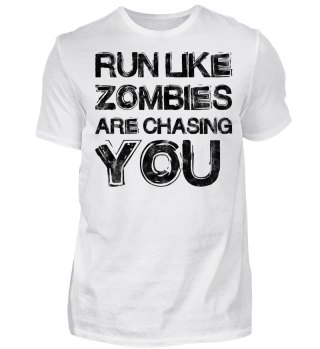 Run Like Zombies Vintage