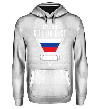 Russen Tshirt-Egal wie geil
