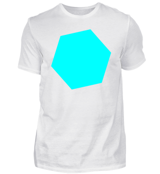 türkises Logo - Design - 6 Eck - Idee