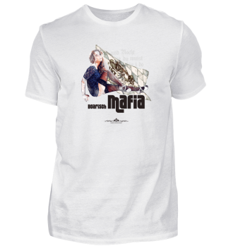 Boarisch Mafia 003 - weiß - graues Shirt