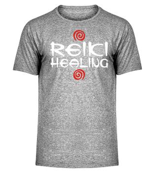 ★ Reiki Healing Energy Spirals red white