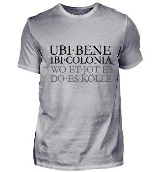 UBI BENE IBI COLONIA - Wo et jot es
