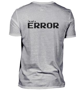 I'm not a ERROR