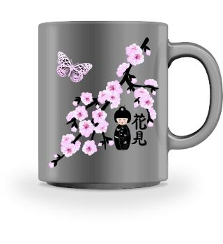 ♥ Cherry Blossom Japanese Character 3