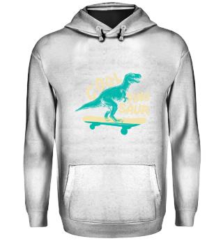 Cooler Dinosaurier Skateboard Geschenk