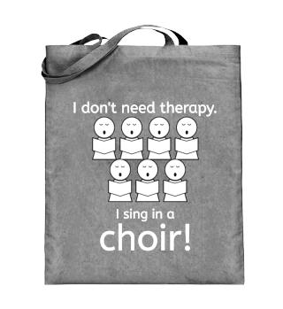 I sing in a choir!