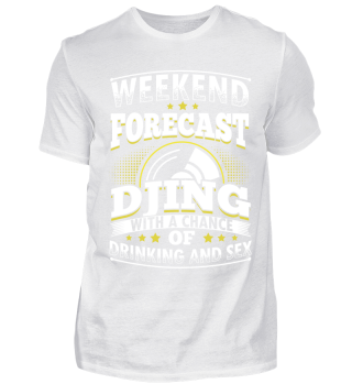 Limited DJ Weekend Forecast