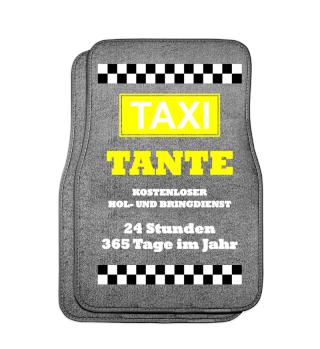 TAXI TANTE| Automatten, Jacke, Tasse