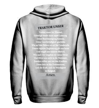 Traktor unser Landwirt Geschenk