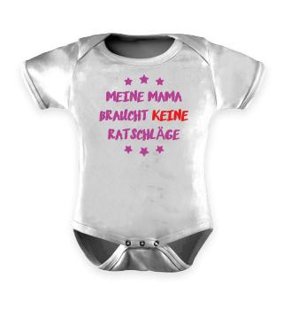 Mama Baby Strampler - Mutter Sprüche