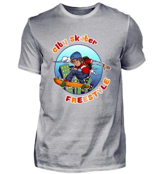 ☛ CITY SKATER · FREESTYLE #1B