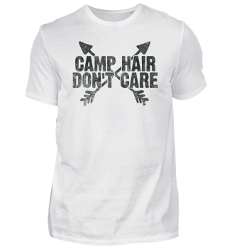Camp Hair Don't Care Camping Gift