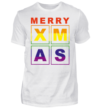 Stylish Square Frame - XMAS - lgbt