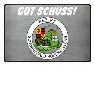 Fußmatte: GUT SCHUSS! + Bezirk