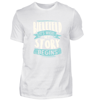 Bielefeld it´s where my story begins
