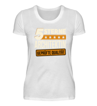 5 Sterne Architektin Architektur