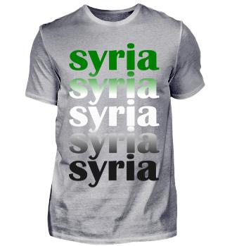 Syria for Men
