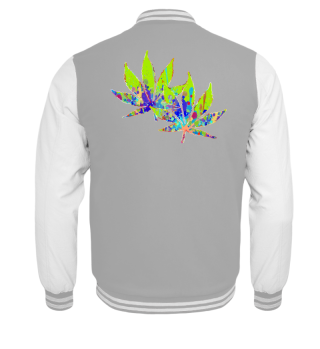 ★ Crazy Colored Marijuana Leaves 2