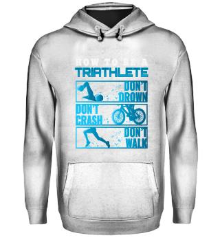 Triathlon T Shirt Männer Geschenk Sport