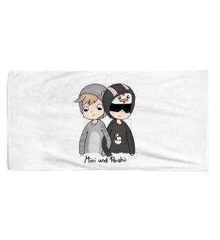 Mini und Poishii - Handtuch