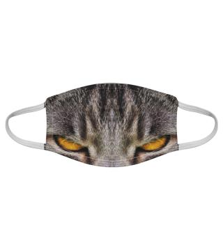 Gesichtsmaske mit Katzenmotiv 20.45