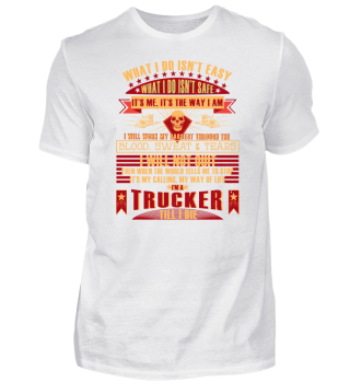 Trucker Shirt Funny Quote Gift Present