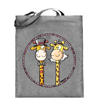 Giraffen Hochzeit