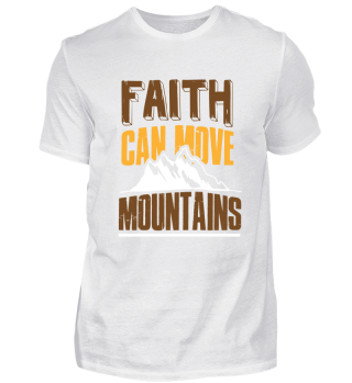Faith can move Mountains gift