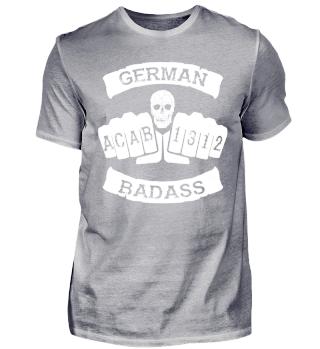 German Badass Fußball Hooligan JGA