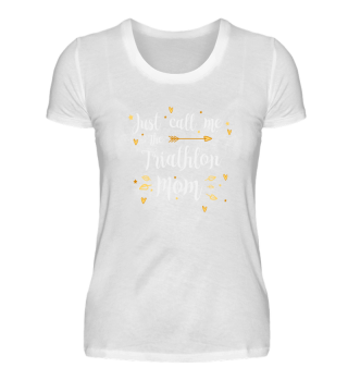 TRIATHLON MOM Gift Shirt Sport Run