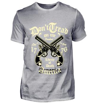 Waffen Design Pistole Statement Shirt