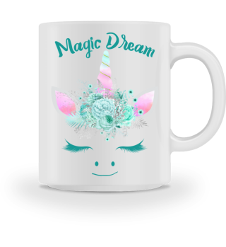 ♥ Cute Unicorn Flowers Magic Dream 1