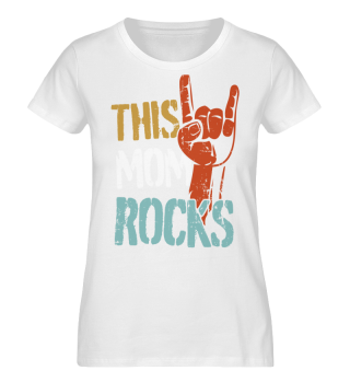 This Mom Rocks Vintage Mother's Day