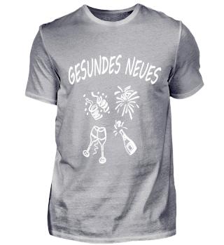 Silvester Funny Lustiges Bild Shirt