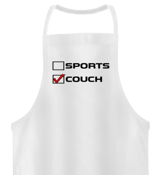 Sports or Couch Lazy Sunday
