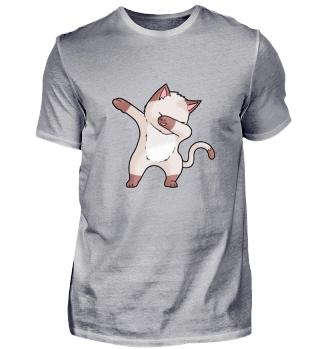 Cute Dabbing Dancing tanzende Kitty Katze