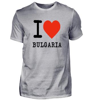 I love bulgaria Gift