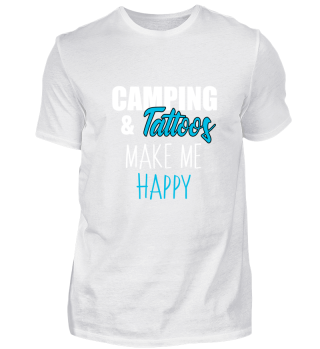 camping and tattoos